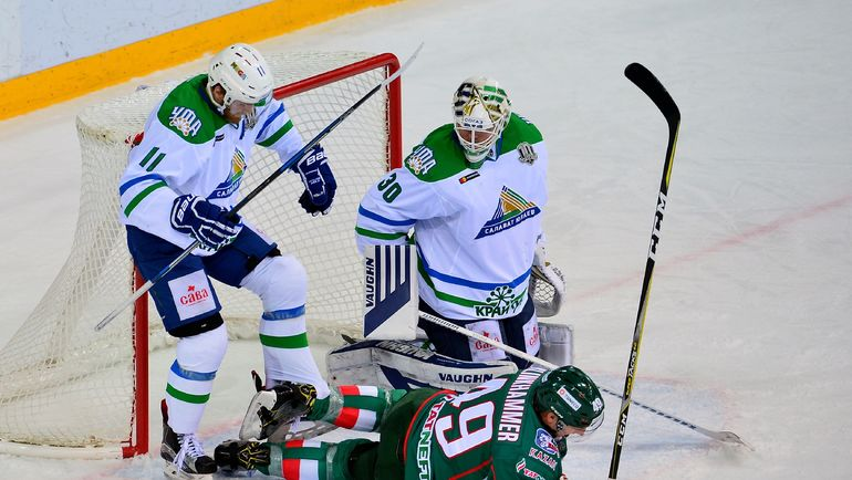 """""""Салават Юлаев"""" показывает положительные результаты в последнее время. Фото photo.khl.ru"""