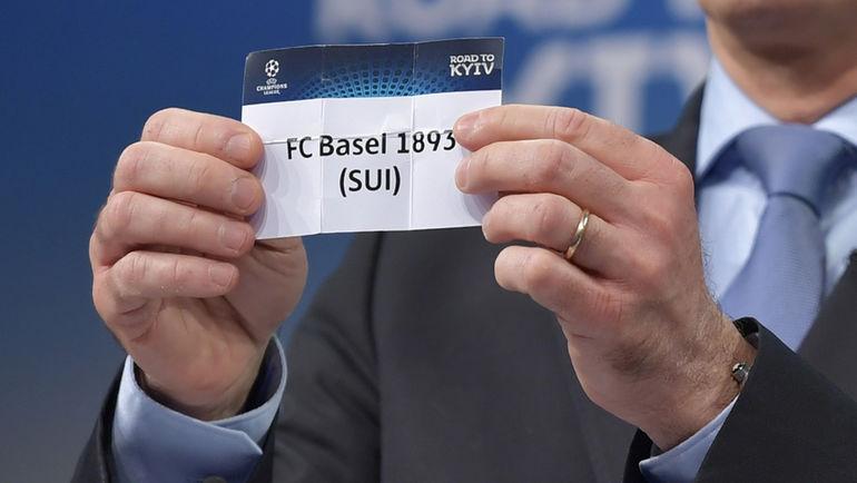 Понедельник. Ньон. Жеребьевка Лиги чемпионов. Фото AFP