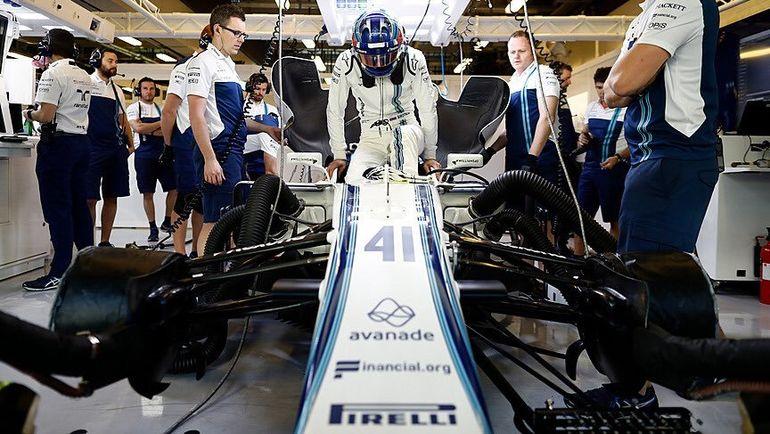 Сергей СИРОТКИН. Фото Williams Racing