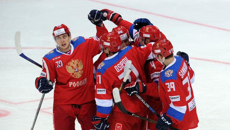 На Кубке Первого канала-2016 сборная России стала лишь второй. В этот раз  победа важна с точки зрения подготовки к Олимпийским играм в Пхенчхане. Фото Алексей ИВАНОВ
