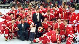 Сборная СНГ - чемпион Олимпиады-1992.