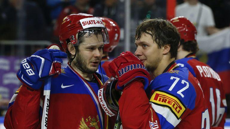 Евгений ДАДОНОВ (слева) и Артемий ПАНАРИН. Фото REUTERS