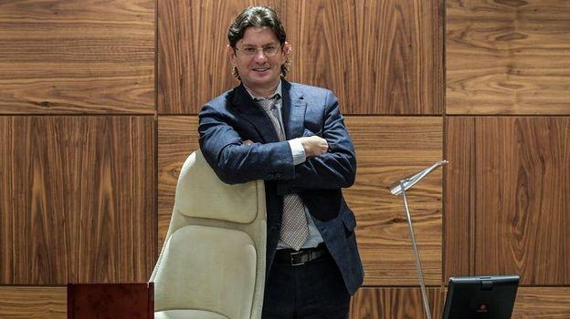 Вчера. Москва. Леонид ФЕДУН в своем кабинете. Фото Дарья ИСАЕВА , «СЭ»