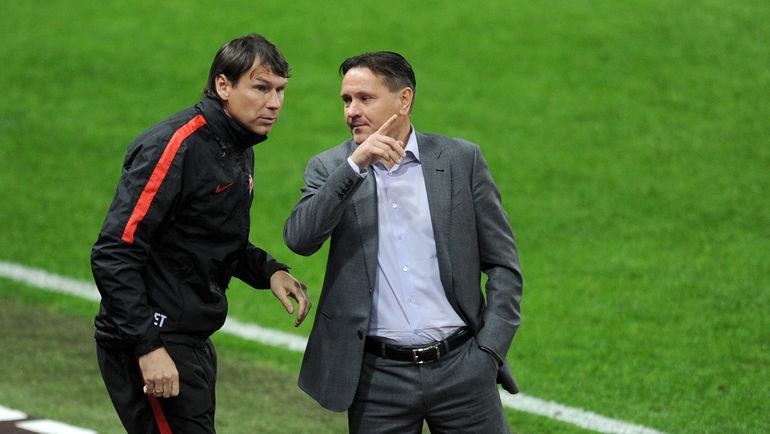 Дмитрий АЛЕНИЧЕВ (справа) и Егор ТИТОВ. Фото Алексей ИВАНОВ