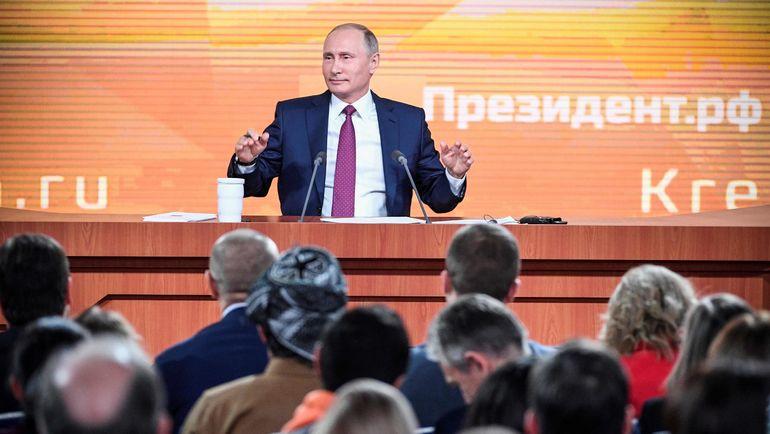 Четверг. Москва. Владимир ПУТИН. Фото AFP