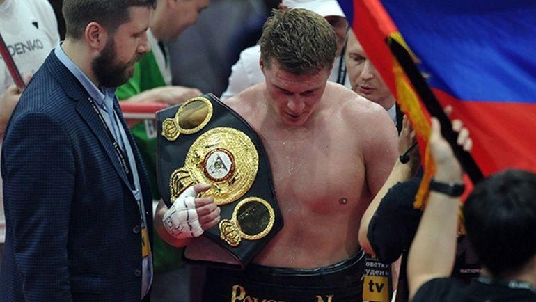 Александр ПОВЕТКИН возвращается на ринг. Фото Алексей ИВАНОВ