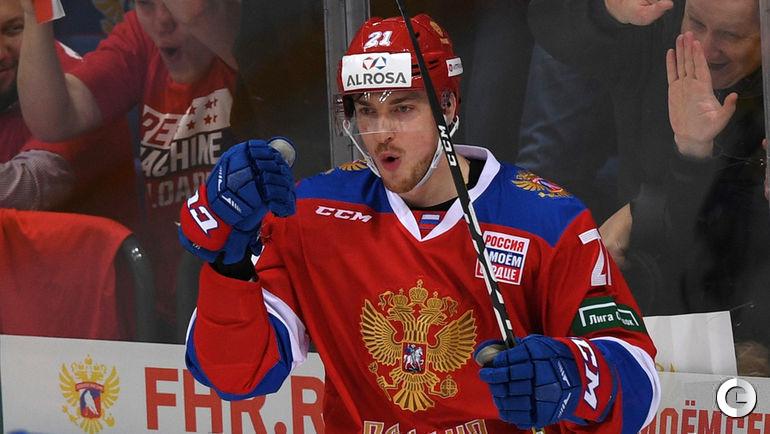 Четверг. Москва. Россия - Швеция - 3:1. Сергей КАЛИНИН.