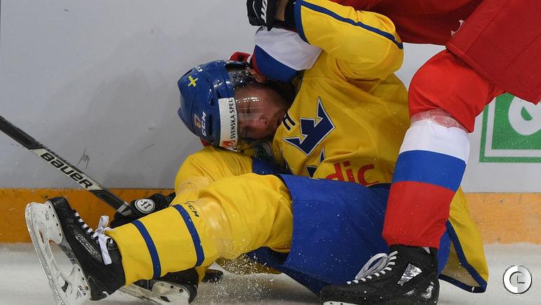 Четверг. Москва. Россия - Швеция - 3:1.