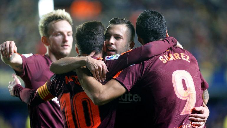 """""""Барселона"""" увеличит свой отрыв. Точно? Фото REUTERS"""