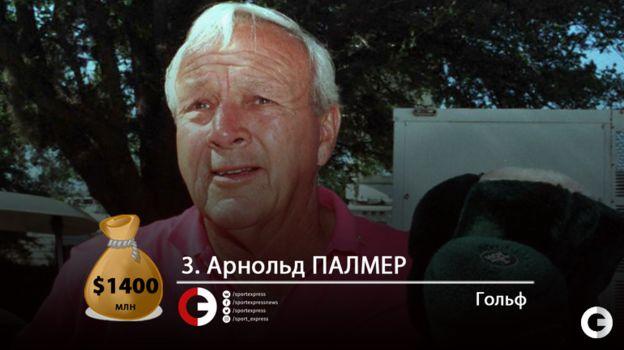 Арнольд ПАЛМЕР. Фото