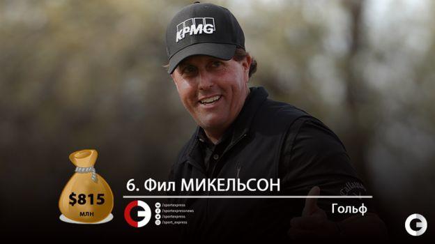 Фил МИКЕЛЬСОН. Фото