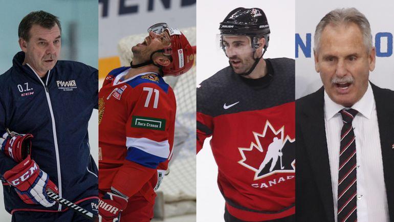 Россия vs Канада.
