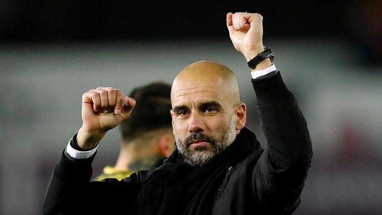 """У """"Манчестер Сити"""" Хосепа ГВАРДЬОЛЫ уже есть рекорд из 15 побед подряд. Будет ли новая? Фото AFP"""