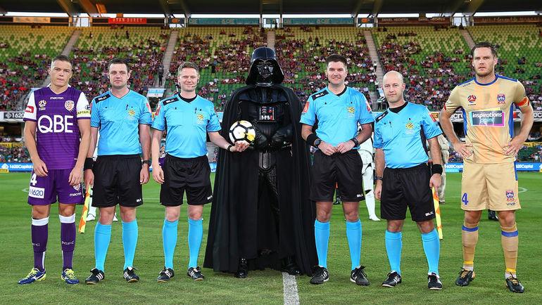"""Уик-энд """"Звездных войн"""" в Австралии. Фото a-league.com.au"""