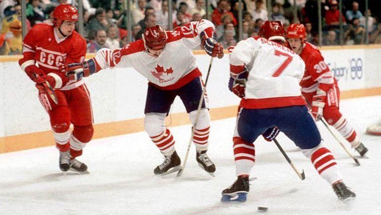 В 1988 году сборная СССР отомстила канадцам на Олимпиаде. Фото collectionscanada.gc.ca