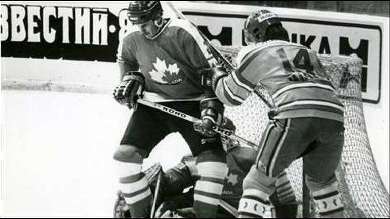 В 1987 году Канада обыграла сборную СССР в Москве.