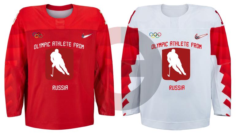 Проект дизайна хоккейной формы олимпийских атлетов из россии 268df04dabf