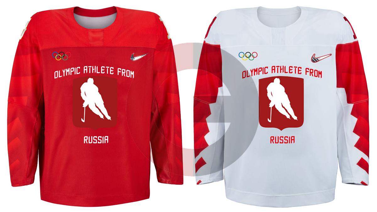 Форма сборной России по хоккею на Олимпиаду-2018. Фото Источник в МОК e212d5f91cc