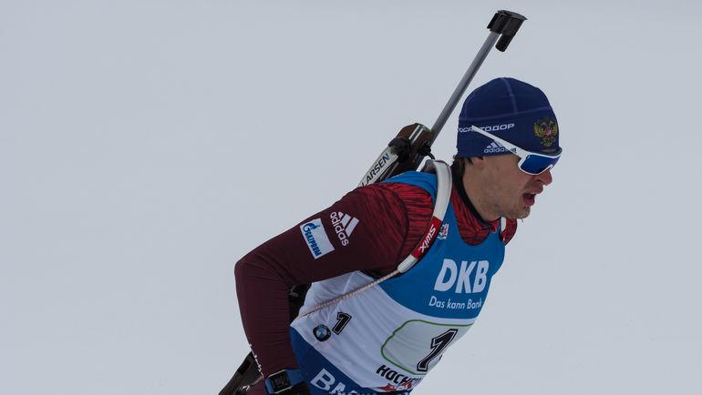 Матвей ЕЛИСЕЕВ финишировал последним. Фото Андрей АНОСОВ, СБР.