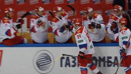 Сегодня. Москва. Россия - Финляндия - 3:0. Россияне выиграли Кубок Первого канала.