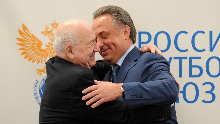 Никита СИМОНЯН и Виталий МУТКО. Фото Алексей ИВАНОВ