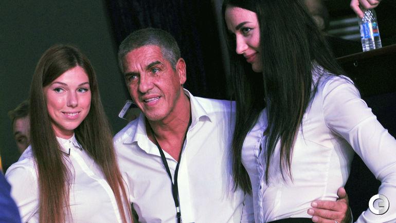 """Четверг. Москва. Самый знаменитый """"таксист"""" в мире актер Сами НАСЕРИ."""