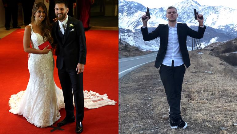 Самые громкие свадьбы года - Лионеля МЕССИ и та, где стрелял Александр КОКОРИН.