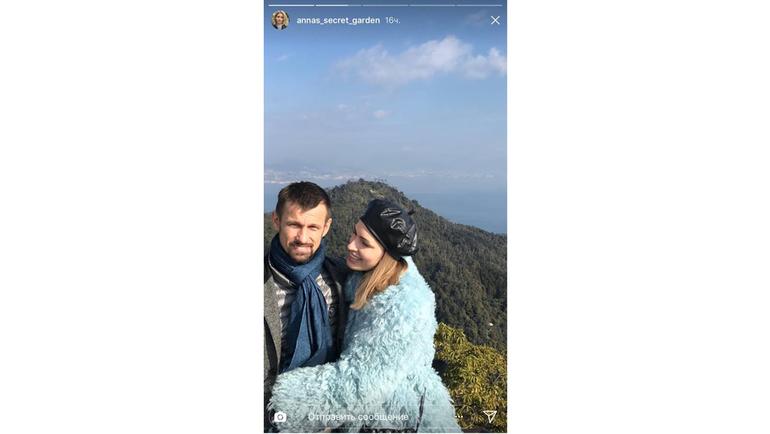 Сергей СЕМАК с женой на отдыхе. Фото instagram.com/
