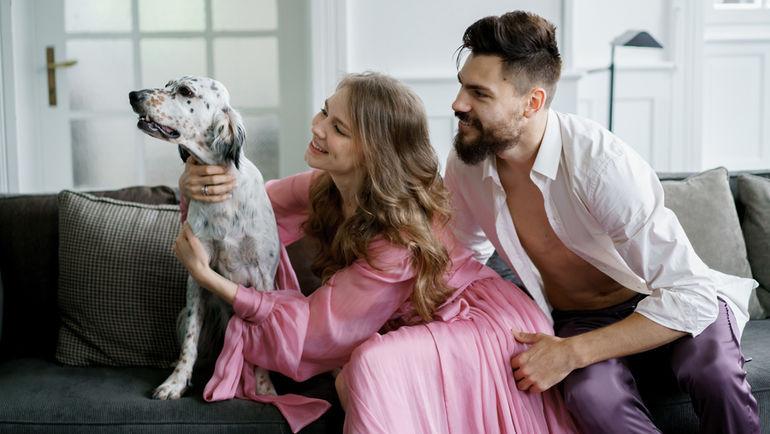 Кристина и Максим БЕЛЯЕВЫ и на свою свадьбу позвали животных. Фото из архива Беляевых