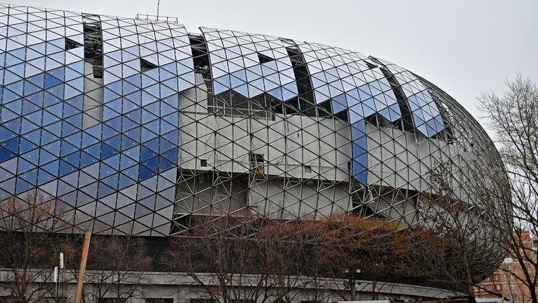 """Строительство стадиона """"Динамо"""" вошло в завершающую стадию. Фото ВТБ Арена Парк"""