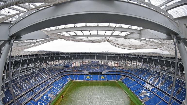 Вид на арену. Фото ВТБ Арена Парк