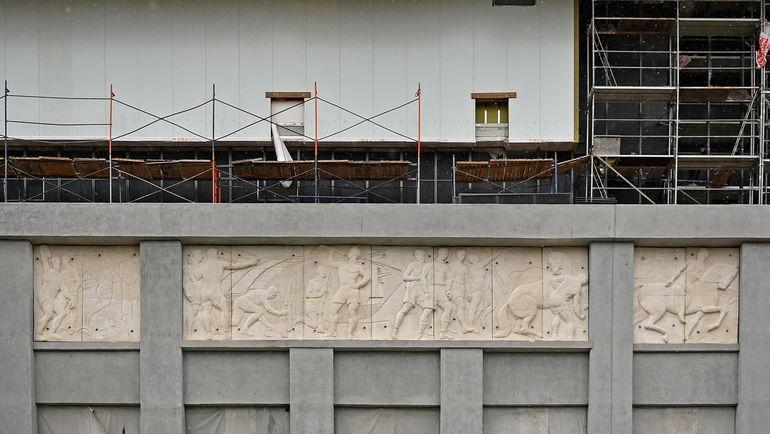 Восстановленный фасад стадиона. Фото ВТБ Арена Парк