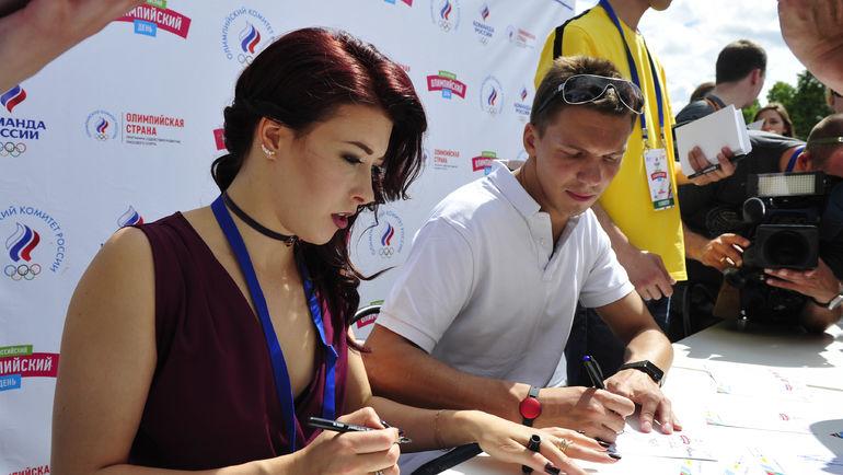 Екатерина БОБРОВА и Дмитрий СОЛОВЬЕВ. Фото Никита УСПЕНСКИЙ
