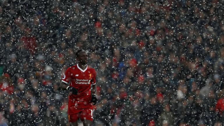 Боксинг дэй - это матчи в дождь и снег. Фото REUTERS