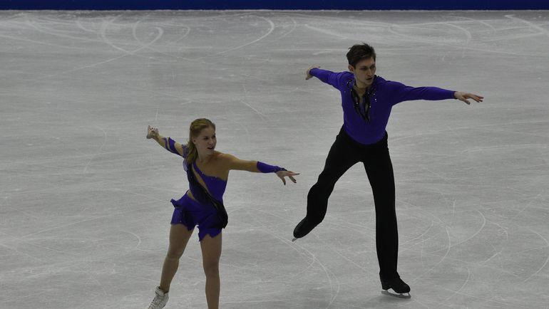 Екатерина АЛЕКСАНДРОВСКАЯ и Харли ВИНДЗОР. Фото AFP