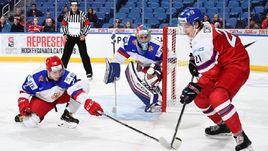 Сегодня. Баффало. Чехия - Россия - 5:4. Команда Валерия Брагина с поражения стартовала на молодежном чемпионате мира.