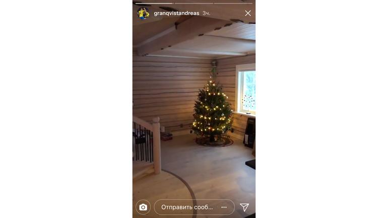 Андреас ГРАНКВИСТ в Швеции. Фото instagram.com/