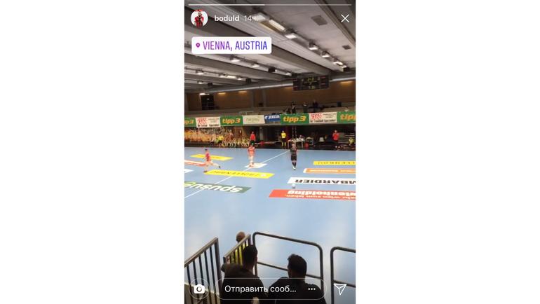 Дарко БОДУЛ на мини-футболе в Вене. Фото instagram.com/