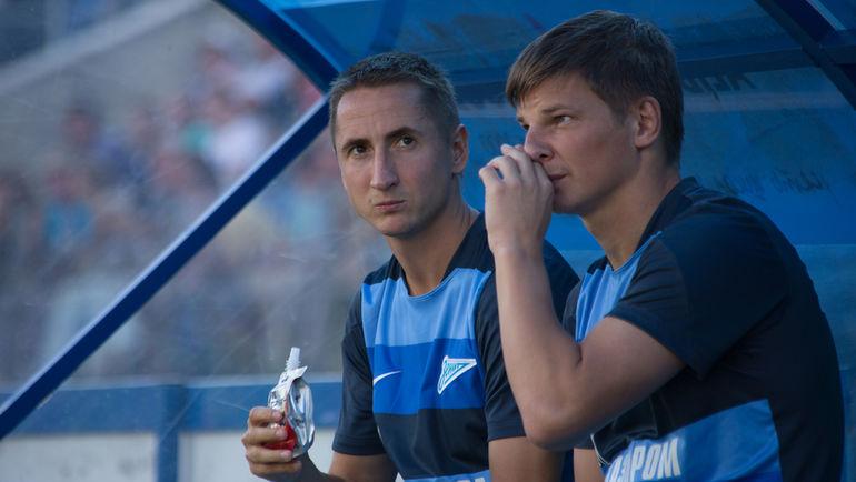 2013 год. Владимир БЫСТРОВ (слева) и Андрей АРШАВИН. Фото Кристина КОРОВНИКОВА