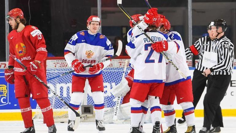 Сегодня. Баффало. Белоруссия - Россия - 2:5. Россияне одержали вторую победу на турнире. Фото IIHF