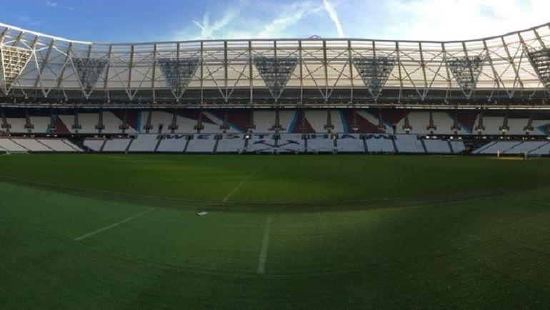 """Как выглядит изнутри новая арена """"Вест Хэма"""". Фото Гоша ЧЕРНОВ, """"СЭ"""""""