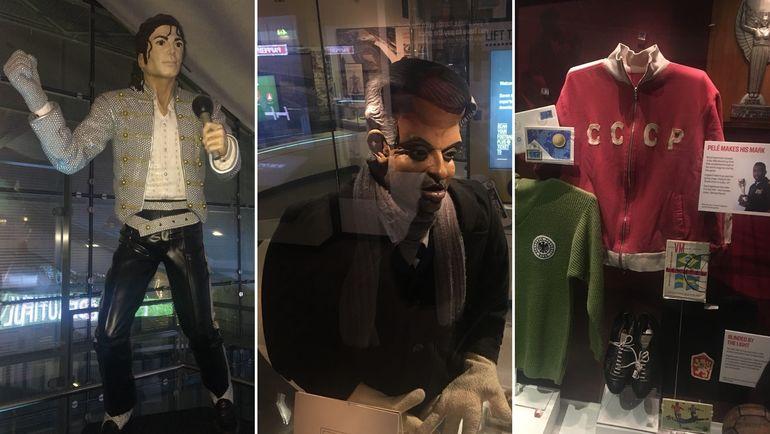 """Статуя Майкла Джексона, кукла Жозе Моуринью и куртка Игоря Численко. Фото Гоша ЧЕРНОВ, """"СЭ"""""""