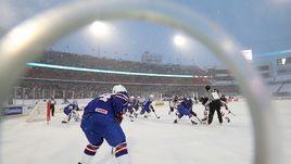 Вчера. Баффало. Молодежный чемпионат мира по хоккею. США - Канада - 4:3.