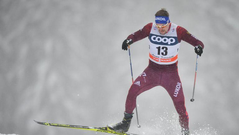 Сергей УСТЮГОВ в Ленцерхайде. Фото AFP