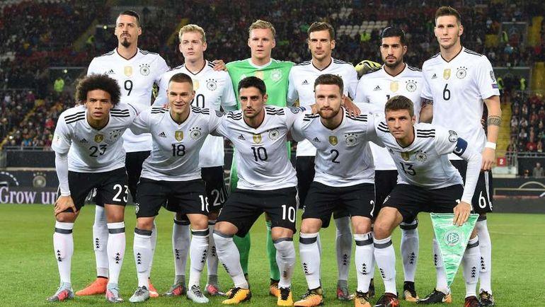 Сборная Германии - чемпион мира-2014 и победитель Кубка конфедераций-2017. В России бундестим выставила по сути второй, молодежный состав. Фото AFP
