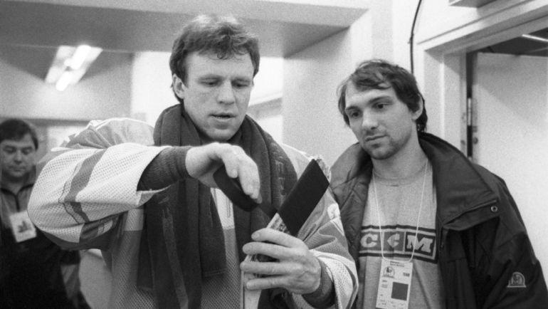 Александр ЧЕРНЫХ (справа) и Вячеслав ФЕТИСОВ. Фото Игорь УТКИН, ТАСС