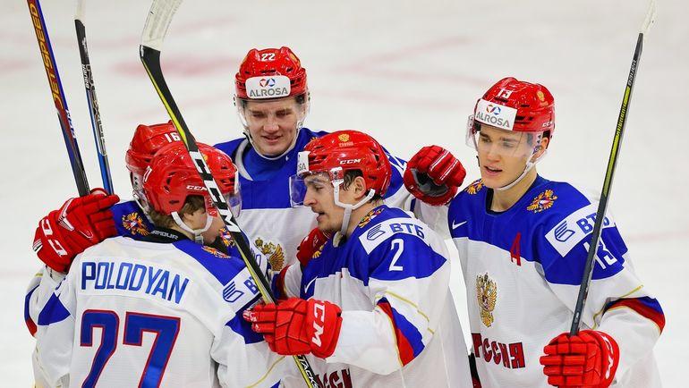 С кем в плей-офф сыграет сборная России? Фото Официальный сайт ФХР