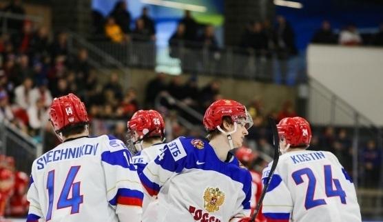 Молодежная сборная России. Фото Официальный сайт ФХР