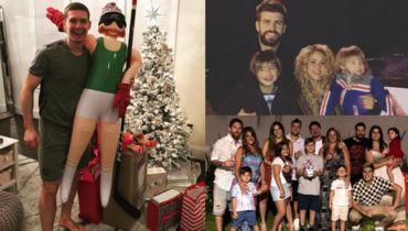 Пике и Шакира с детьми. Месси и вся семья. Кузнецов и - кто это?