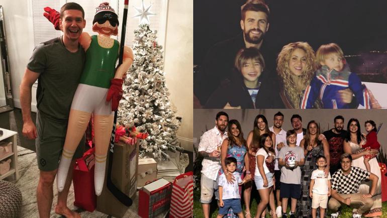 Как провели Новый год звезды российского и мирового спорта. Фото instagram.com